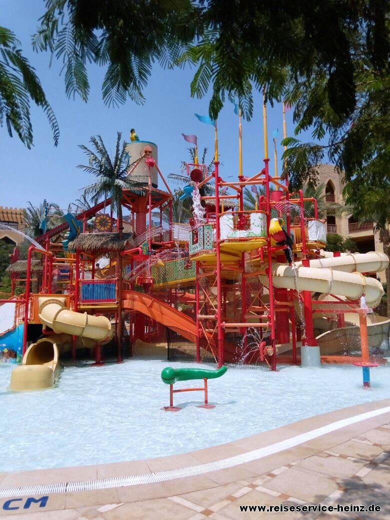 Der Kinderpool im Sunwing Waterworld